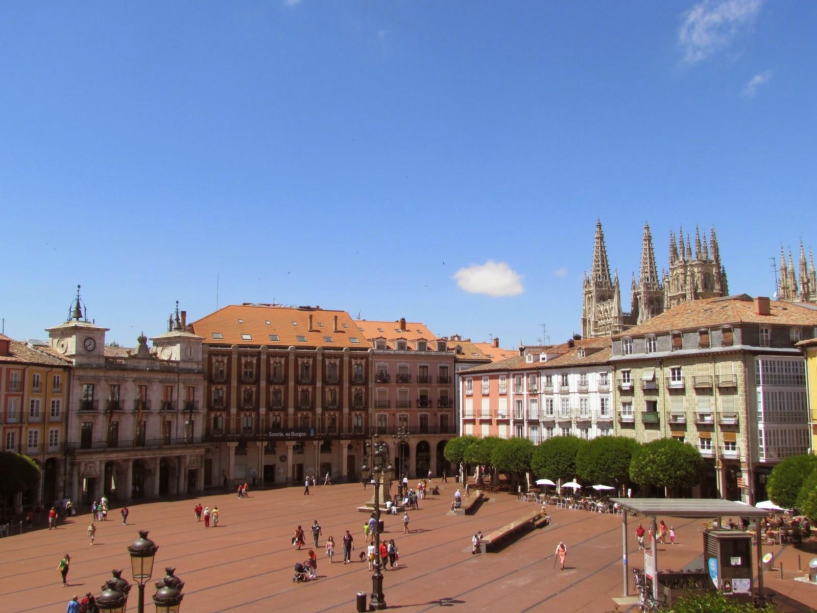 Plaza Mayor, Burgos