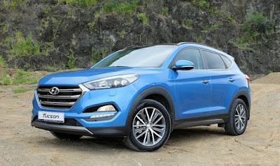 The all new Hyundai Tucson Luxury SUV wallpaper 3