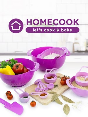 Homecook Let's Cook & Bake