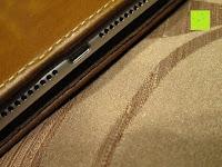 Rand: Leicke MANNA Schutzhülle Apple iPad Air 2 braun