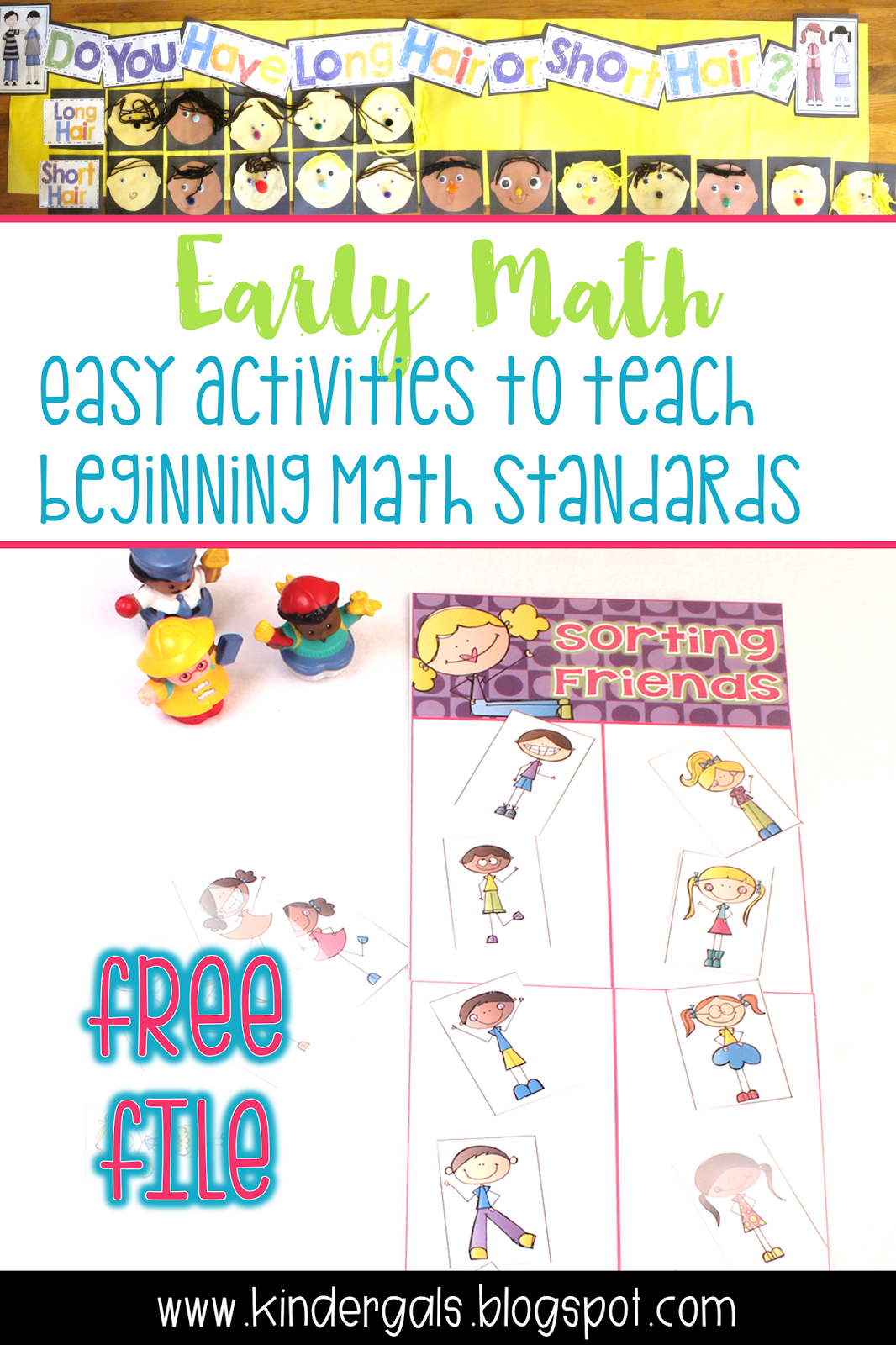 Kindergals Activities To Develop Early Math Understanding
