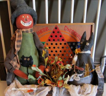 Pumpkin Head and Black Cats