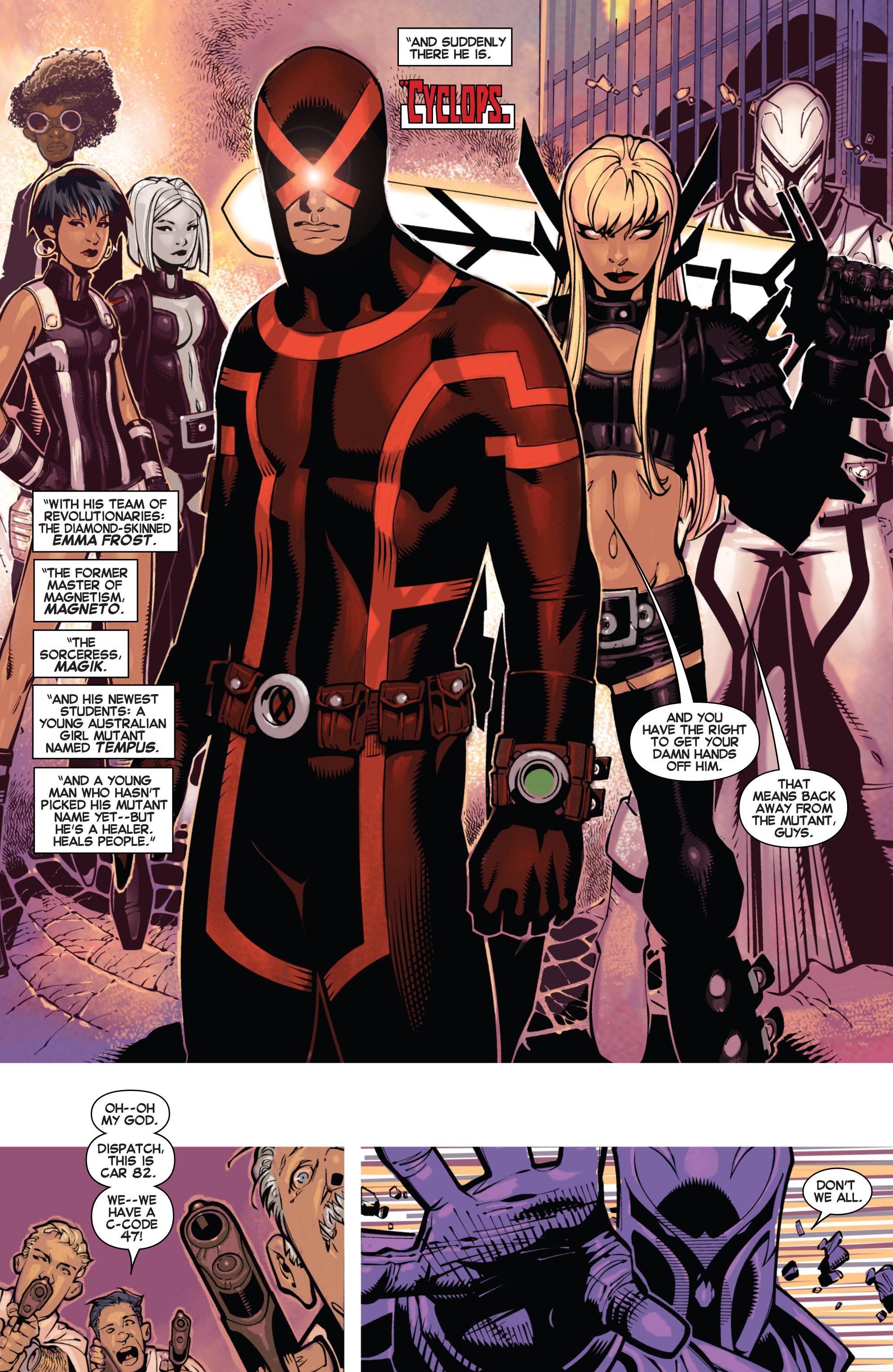 Read online Uncanny X-Men (2013) comic -  Issue # _TPB 1 - Revolution - 13