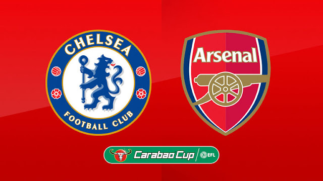 Arsenal vs Chelsea :EFL Cup TV, live streaming Carabao Cup