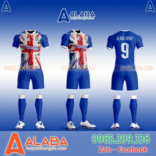 Áo Chelsea tự thiết kế theo yêu cầu mã ALB CH10