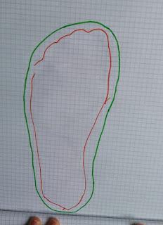 bulle et funambule  patron chaussons