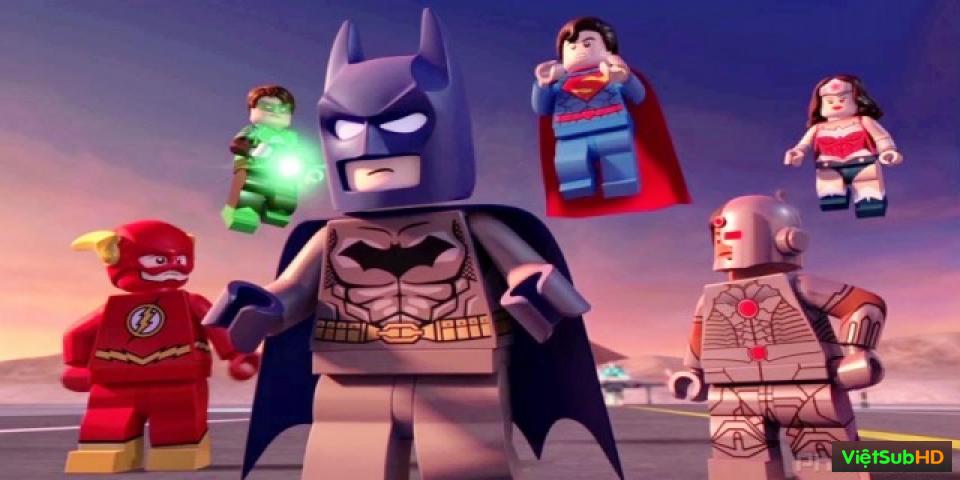 Phim Liên minh công lý LEGO: Cuộc tấn công của quân đoàn Doom VietSub HD | LEGO Justice League: Attack of the Legion of Doom 2015