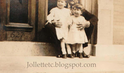 Unknown with John Jr and Bob in Richmond Hill 1920 https://jollettetc.blogspot.com