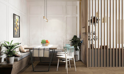 Desain Interior Gaya Asia - Skandinavia