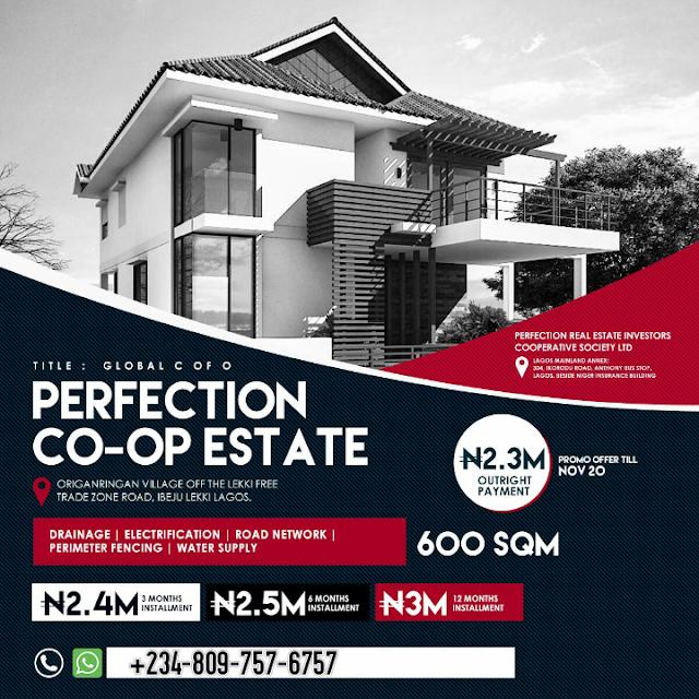 Perfection-co-op-estate-ibeju-lekki