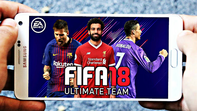 Download FIFA 18 MOD DLS Android Offline 400 MB Best Graphics