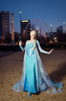 Elsa's Dress Costume Notes by Katie