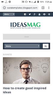 ideas mag premium Template Download