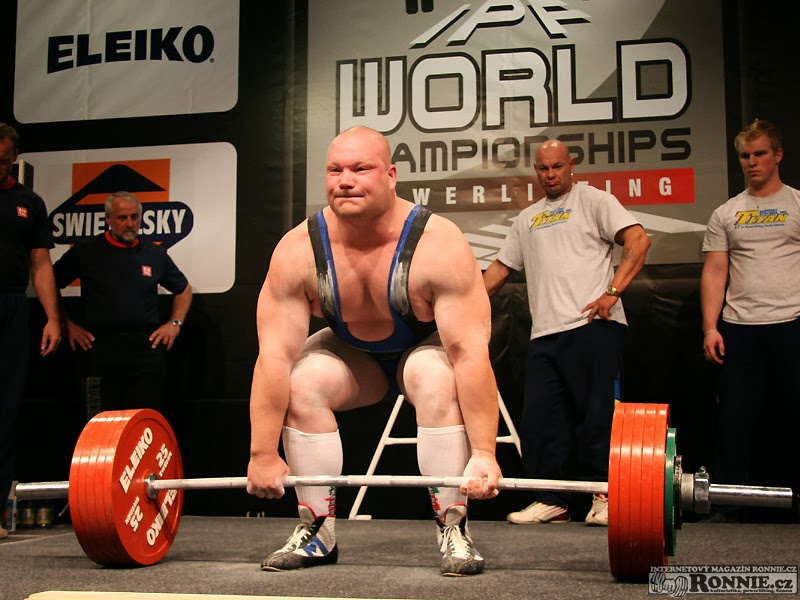 eastern bloc lifting: Milan Spingl - Czech SHW Powerlifting