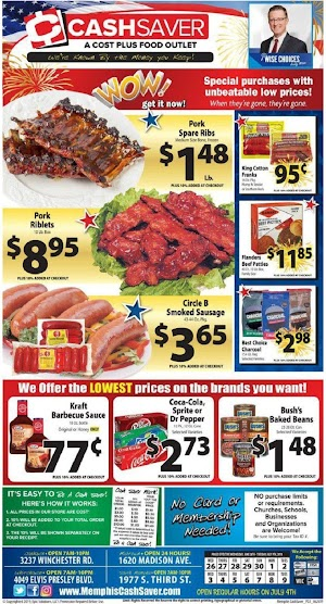 Cash Saver Ad and Deals July 3 - July 9, 2019
