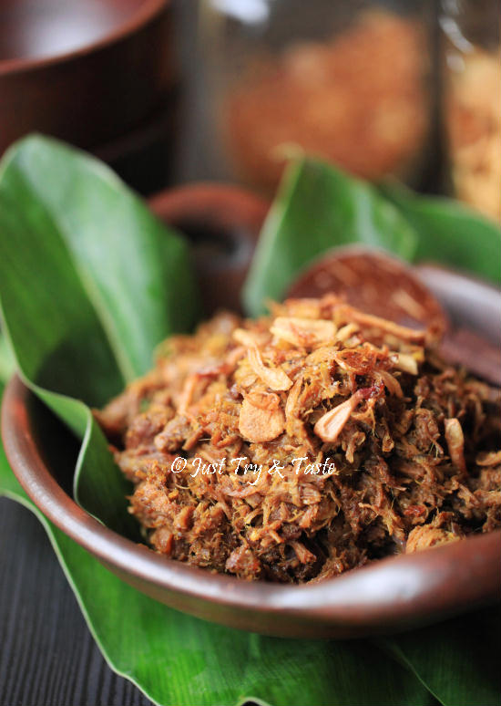 Resep Empal Suwir Daging Sapi Just Try Taste