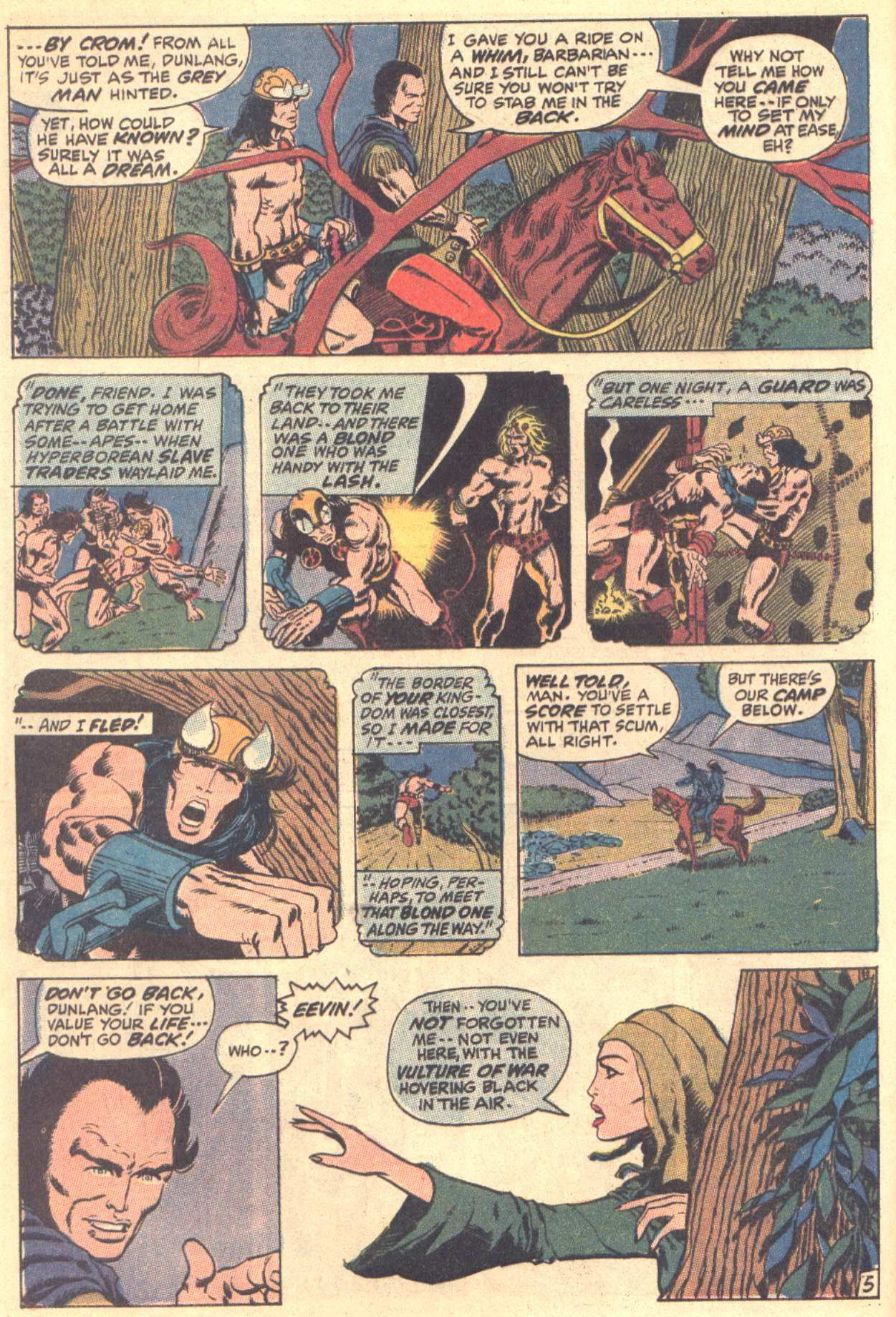 Conan the Barbarian (1970) Issue #3 #15 - English 6
