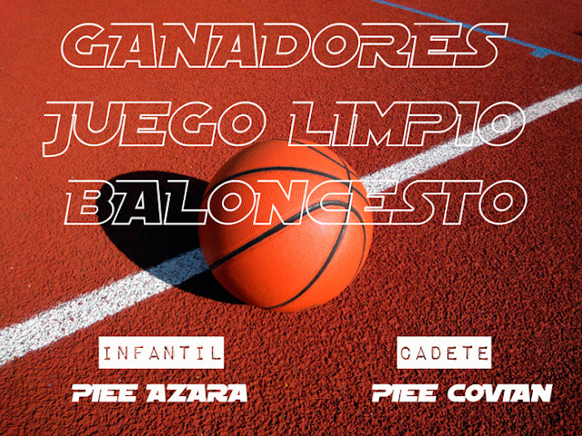 BALONCESTO: GANADORES DEL JUEGO LIMPIO