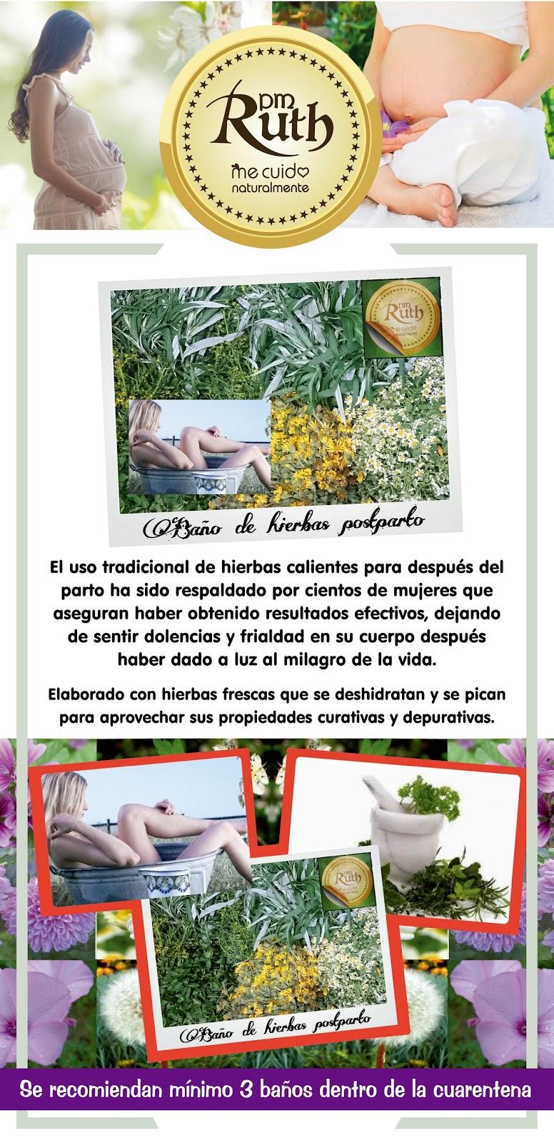 Plantas medicinales ruth ba o de hierbas post parto - Plantas para banos ...