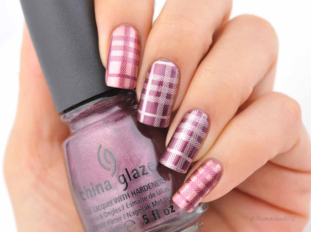 China glaze: Joy, Poetic, Moyoulondon: Hipstar Collection-05,スタンピングネイル