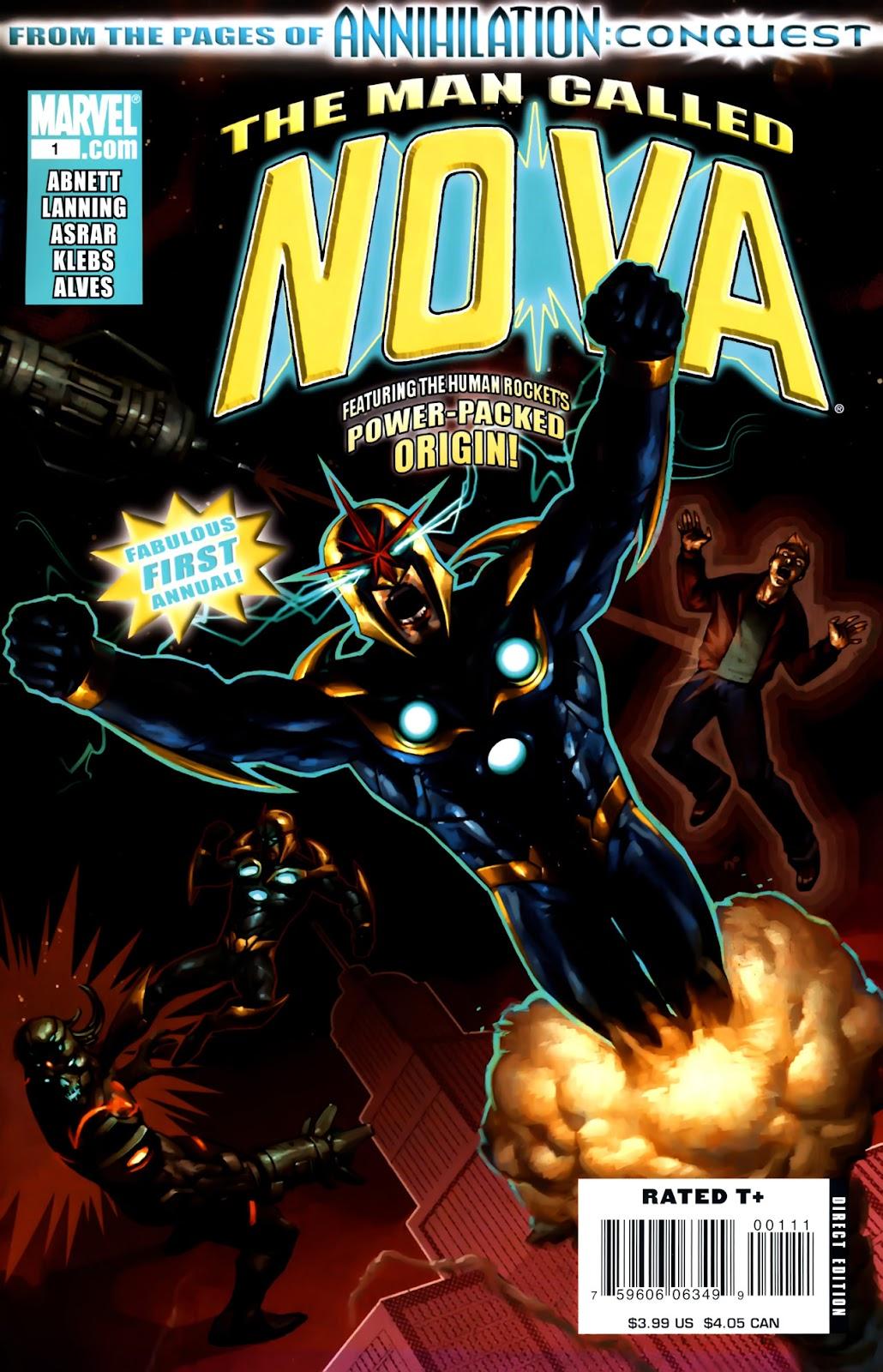 Nova - Annual (2008) issue 1 - Page 1