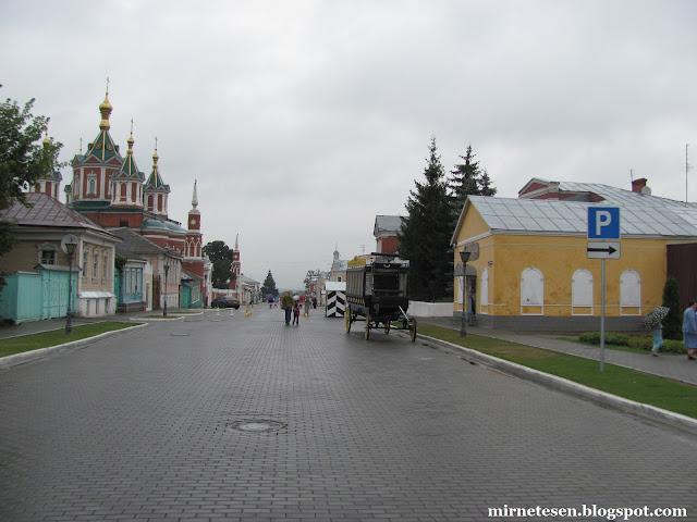 Коломенский кремль - улица Лажечникова