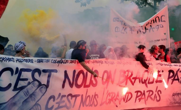 France's far left leads protests against Macron reforms