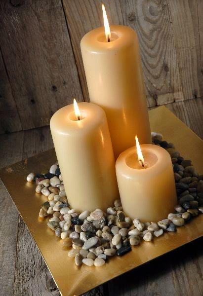 31 centros de mesa para boda con velas todo inspiraci n for Comida francesa df