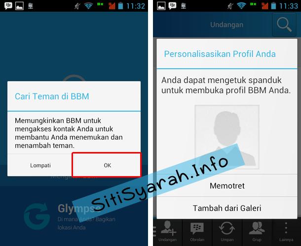Cara Membuat BBID BBM Android