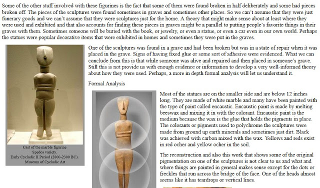 The Human Body in the Art World Paper