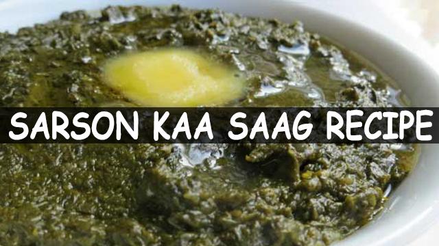 How To Make Sarson Kaa Saag | Sarson Kaa Saag Recipe | Veg. Recipe