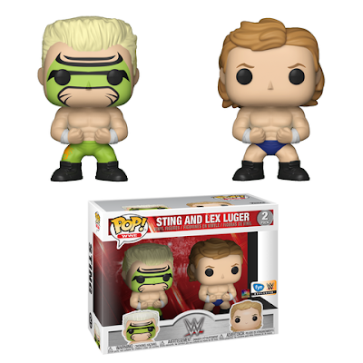 WWE Pop! Vinyl Figures Series 9 by Funko - Sting & Lex Luger