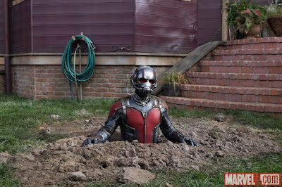 Paul Rudd as Ant-Man, directed by Peyton Reed