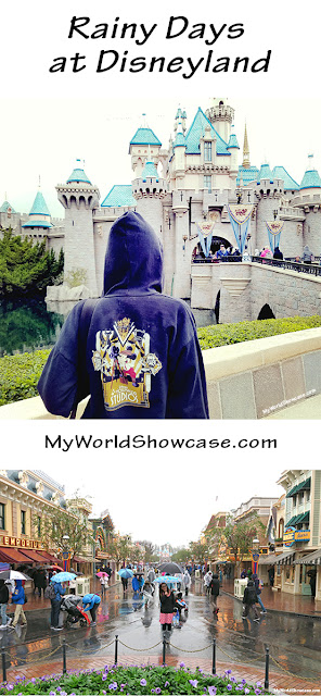 Rainy Days at Disneyland - My World Showcase