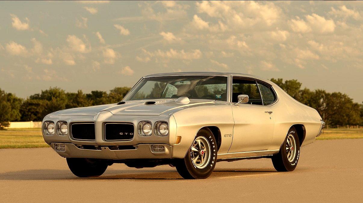 MUSCLE CAR COLLECTION : 1970 Pontiac LeMans GTO Ram Air IV