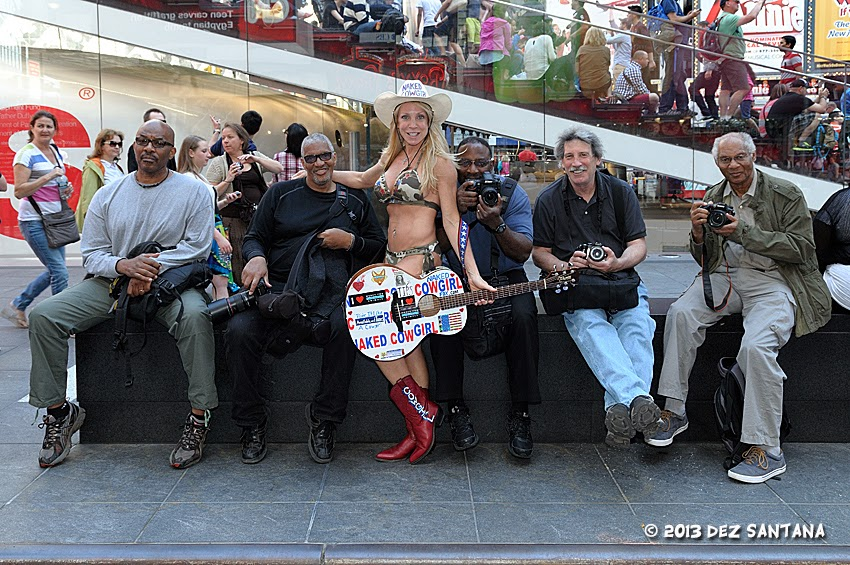 Not Cowgirls naked in a group
