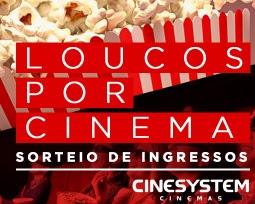 Cadastrar Promoção Loucos Por Cinema Cinesystem Rádio 98 FM Curitiba