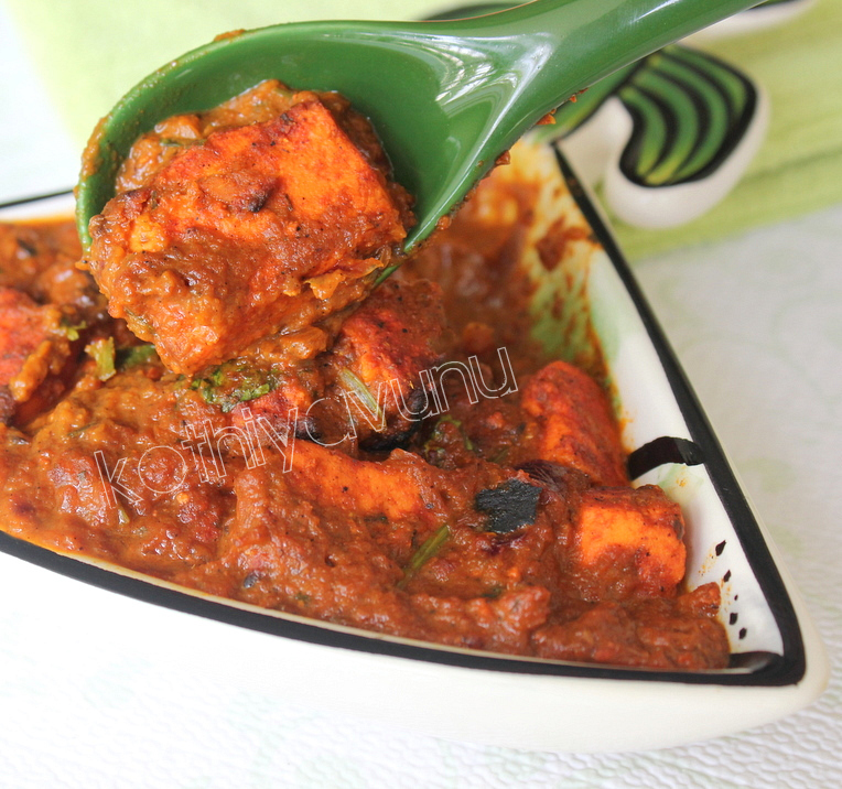 Paneer Tikka Masala Recipe – Grilled Cottage Cheese Cubes in Creamy ...