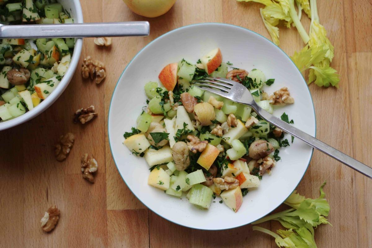 Maroni Sellerie Apfel Salat
