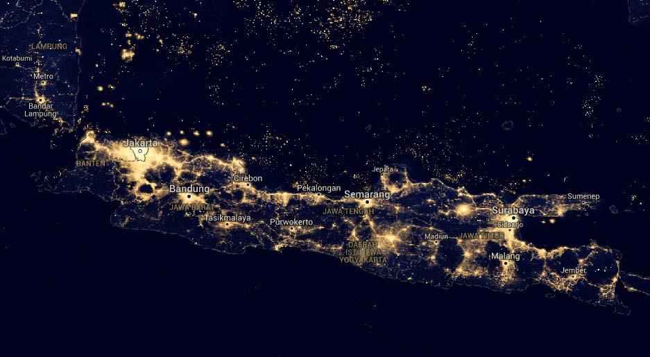 Image result for foto indonesia dari luar angkasa