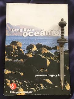 Portada del libro Oceánico, de Greg Egan