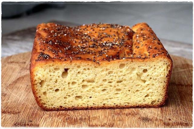 Receita Pão de Batata Doce e Iogurte Liquidificador sem sova