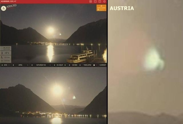 Mysterious object which emits greenish light captured in the sky over Austria and Taiwan  Greenisg%2Bobject%2Baustria%2Btaiwan%2Bufo%2B%25282%2529