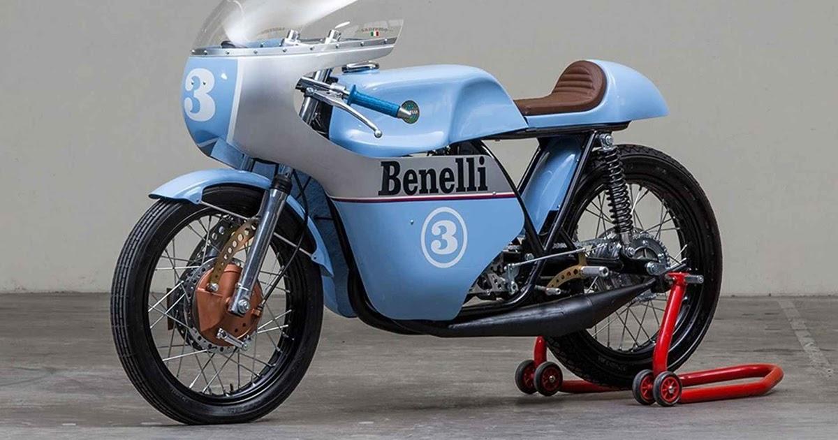 Rhapsody In Blue - 1968 Benelli 250 Tribute