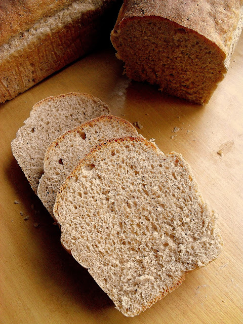 Chleb półrazowy / Half Whole Wheat Bread