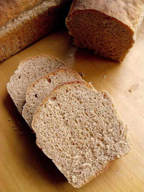 Chleb półrazowy / Half Whole Wheat Bread