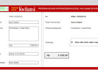 Download Aplikasi Kwitansi Dana Bos Tahun 2016 Gratis