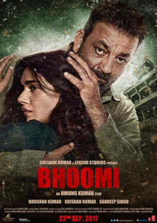 Bhoomi 2017 HDRip 350Mb Full Hindi Movie Download 480p Watch Online Free bolly4u