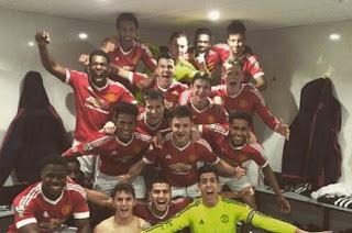 Manchester United Juara Liga Inggris U-21
