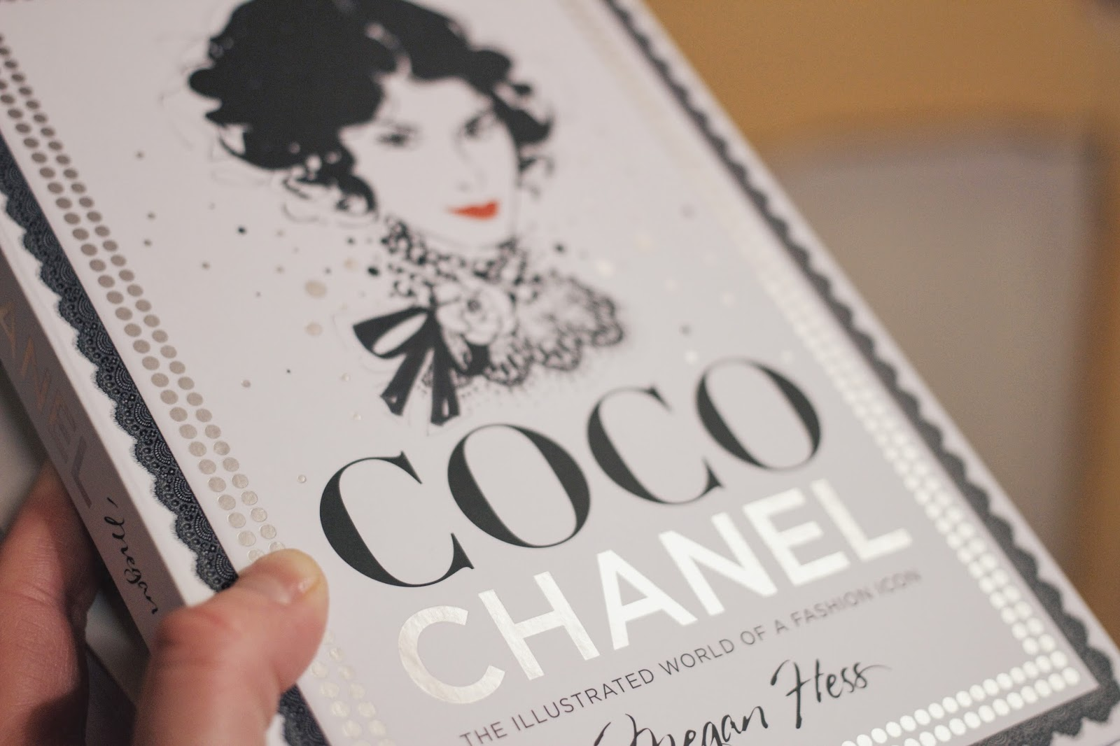 Coco Chanel, Book, Scarthin Books, Katie Writes,